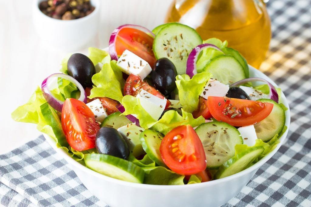 Рецепт грецького салату