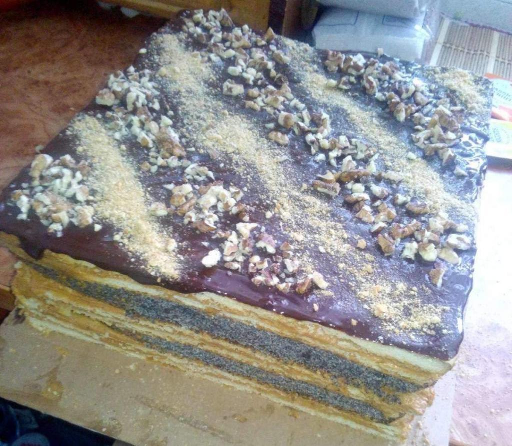 Торт мідний вершник